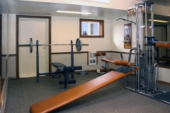 Fitness Center at Clover Creek Inn